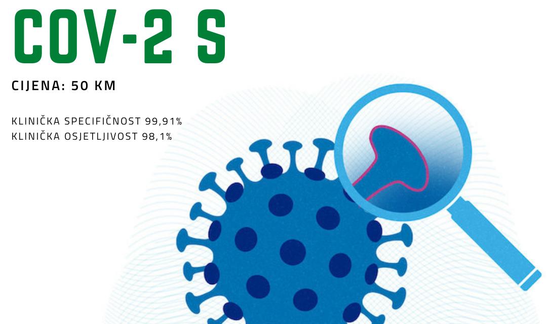 SARS-CoV-2 IgG antitijela na Spike protein